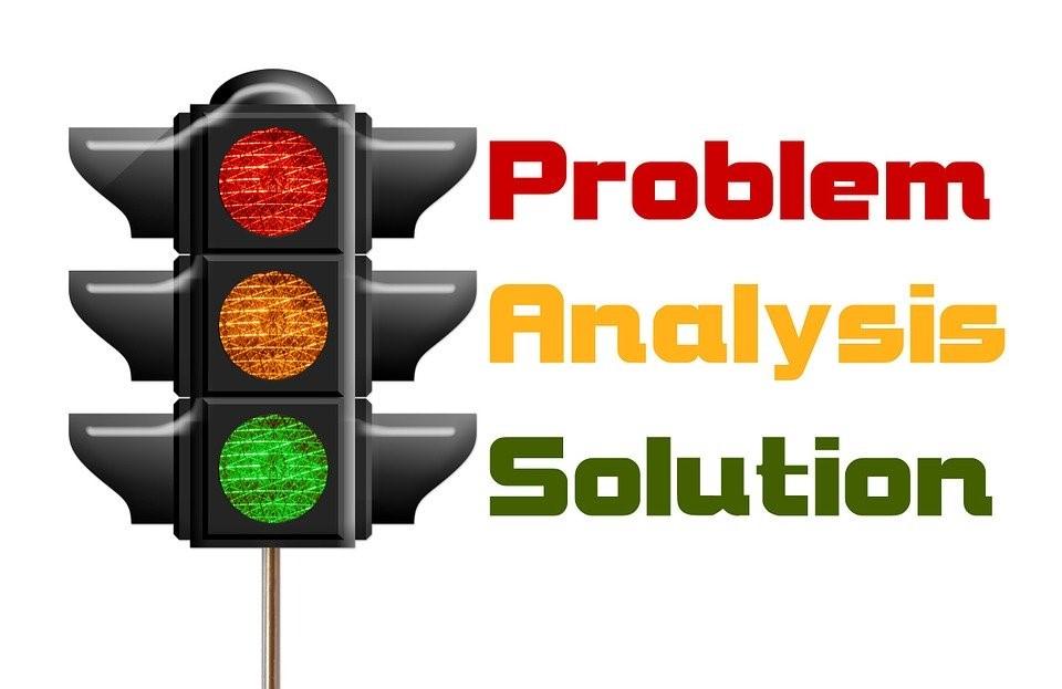 Semáforo, Problema, Análisis, Solución, Rojo, Verde