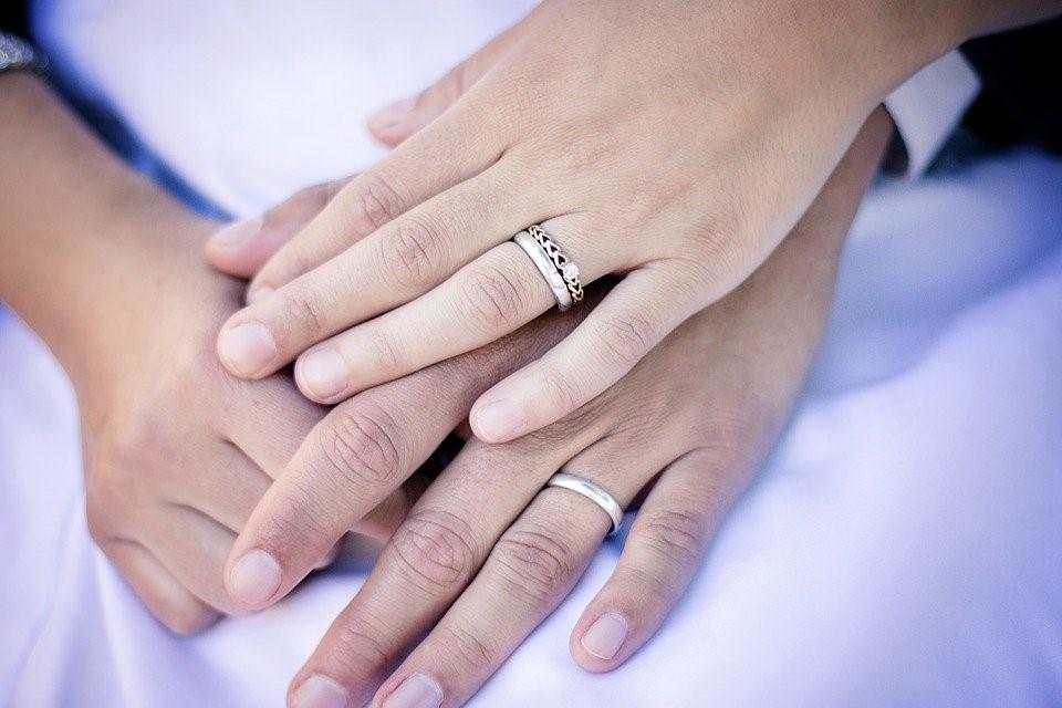 Anillos, Manos, De La Boda, Matrimonio, Compromiso